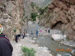 Students hike out to remote villages in High Atlas
